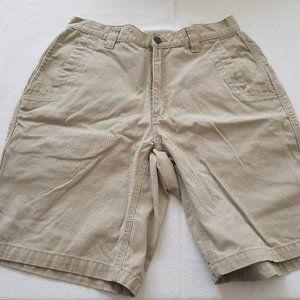 Mountain Khaki Mens Teton Twill Shorts 33 x 11